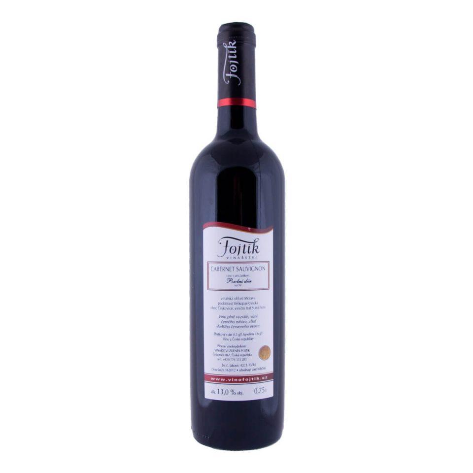 Cabernet Savignon pozdní sběr 2012 (Vinařství Fojtík)