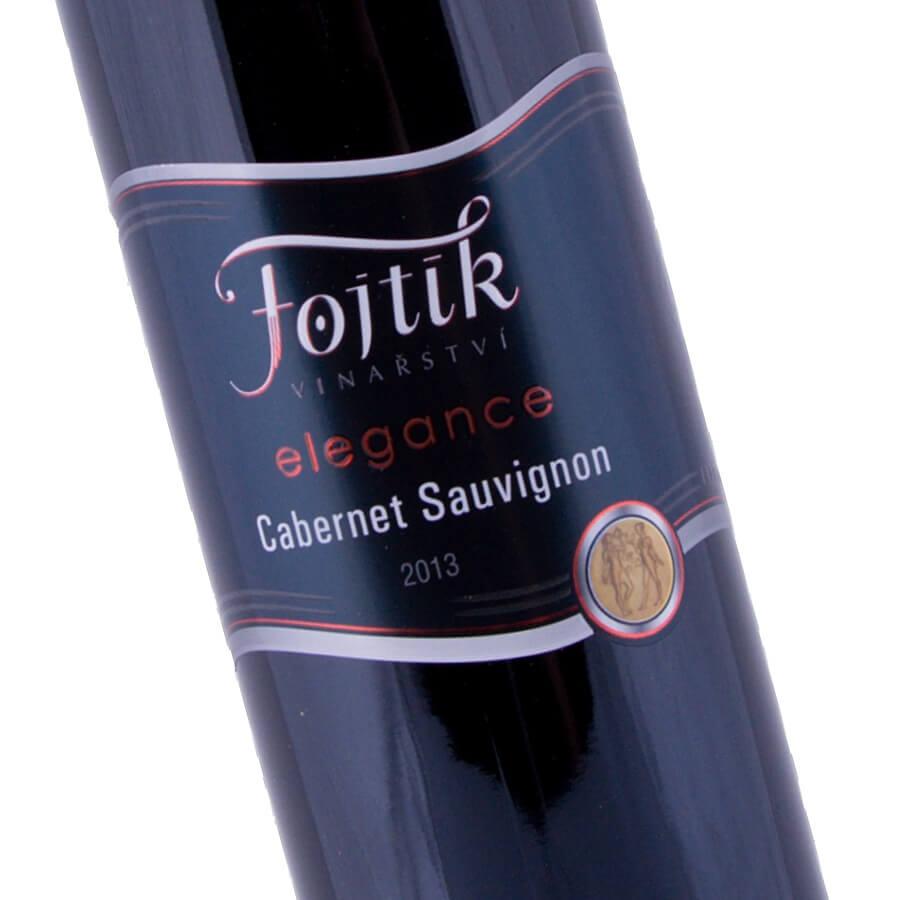 Cabernet Savignon elegance 2013 (Vinařství Fojtík)