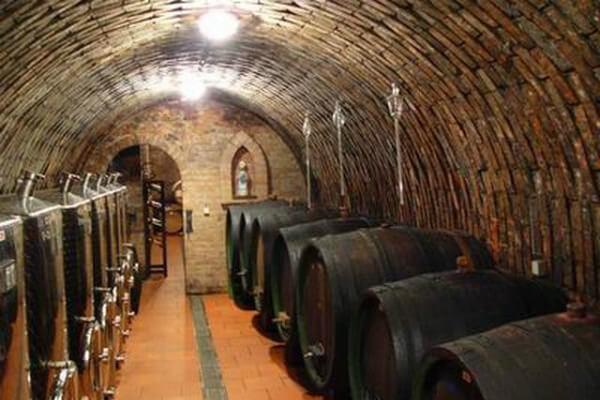 Vinný sklep ve vinařství Fojtík