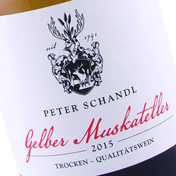 Gelber Muskateller 2015 (Peter Schandl)
