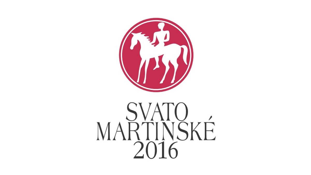 Svatomartinské víno - logo