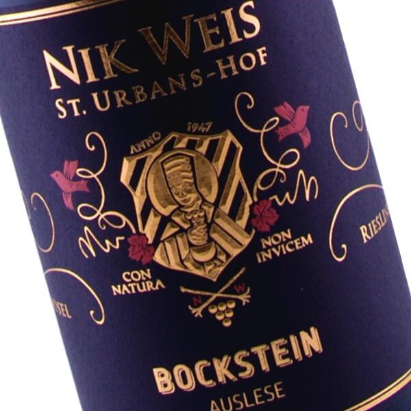 Bockstein Auslese Grosse Lage Fruchtige 2015 (Nik Weis St. Urbans-Hof)