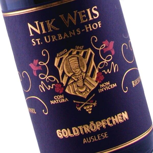 Goldtröpfchen Auslese Fruchtige 2015 (Nik Weis St. Urbans-Hof)