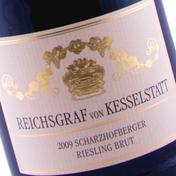 Scharzhofberger Riesling Sekt Brut 2009 (Reichsgraf von Kesselstatt)
