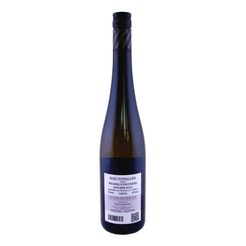 Weisser Burgunder Auslese Postaller 2015 (Weingut Schmelz)