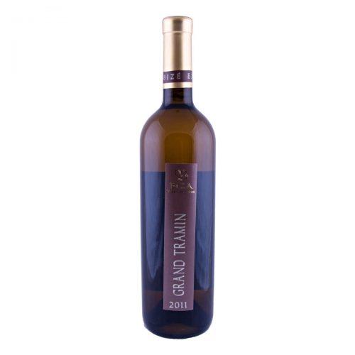 Grand Tramín barrique výběr z hroznů 2011 (Vinařství Bíza)