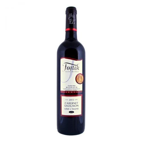 Cabernet Sauvignon výběr z hroznů suché 2015 (Vinařství Fojtík)