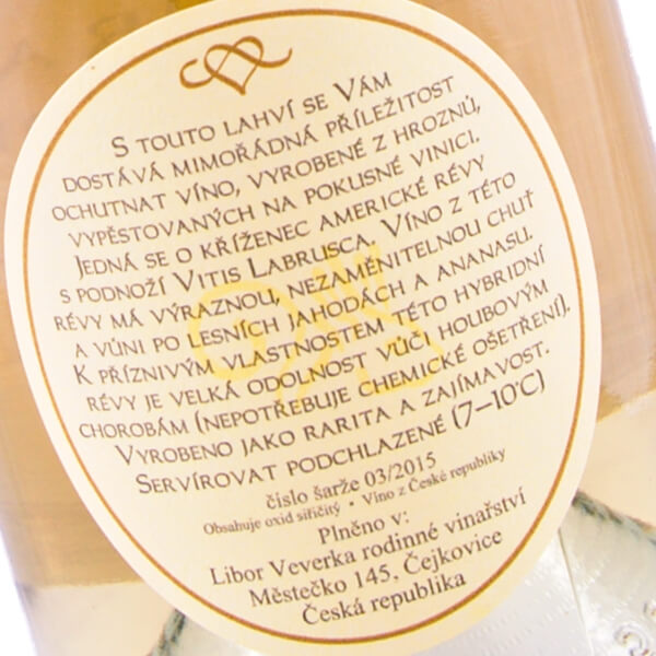 Radost víno bílé 2015 (Libor Veverka)