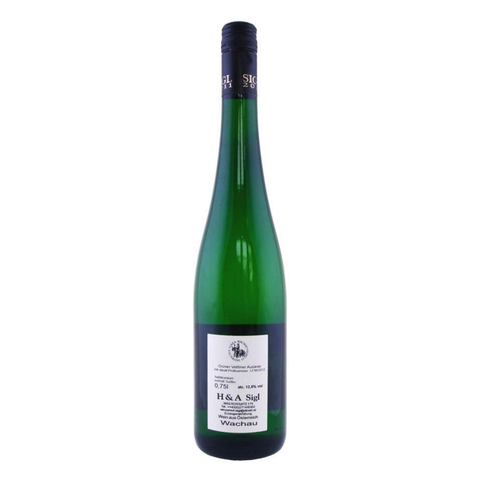 Grüner Veltliner Privatfüllung Ried Kirnberg 2011 (Weingut Sigl)