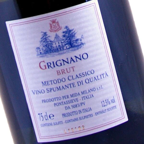 """Vino Spumante Brut Metodo Classico """"Grignano"""" (Fattoria di Grignano)"""