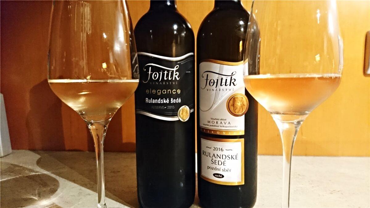 Nová vína ročníku 2016 z Vinařství Fojtík