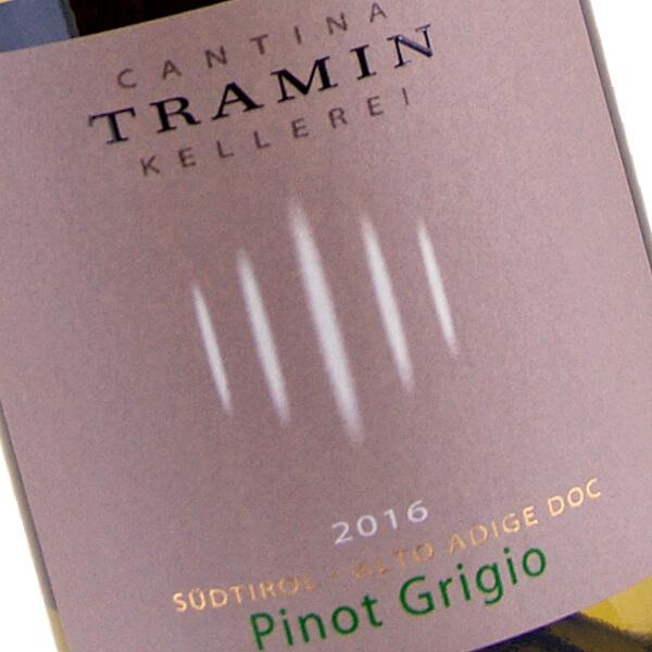 Pinot Grigio 2016 (Cantina Tramin)