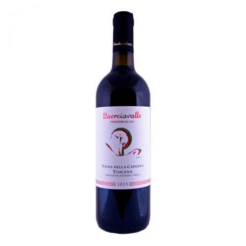 Querciavalle Rosso Vigna della Capanna IGT 2015 (Famiglia Losi)