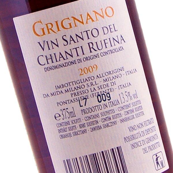 """Vinsanto Del Chianti Rufina """"Grignano"""" DOC 2009 (Fattoria di Grignano)"""