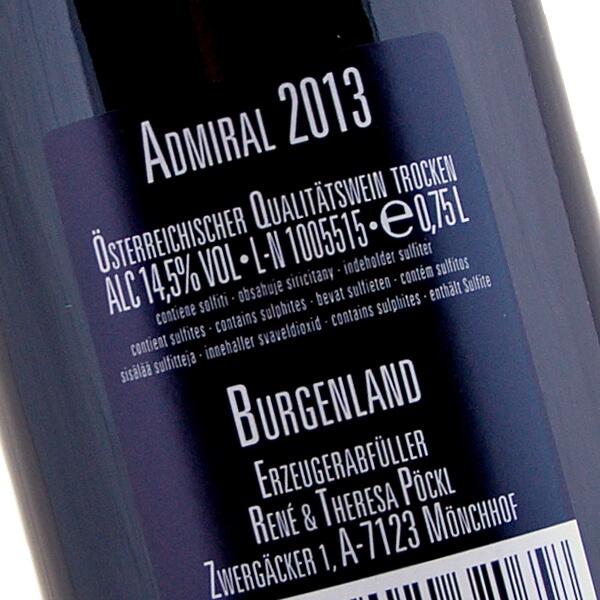 Admiral 2013 (Weingut Pöckl)