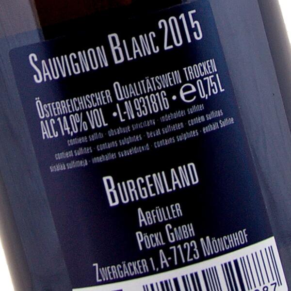 Sauvignon Blanc 2015 (Weingut Pöckl)