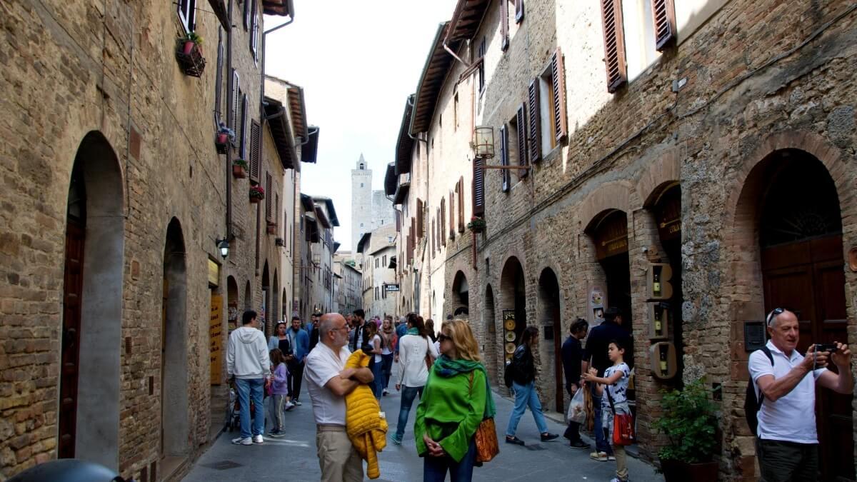 San Gimignano - uličky