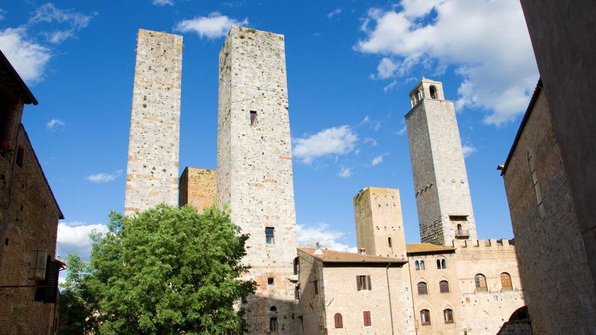 San Gimignano - věžové domy