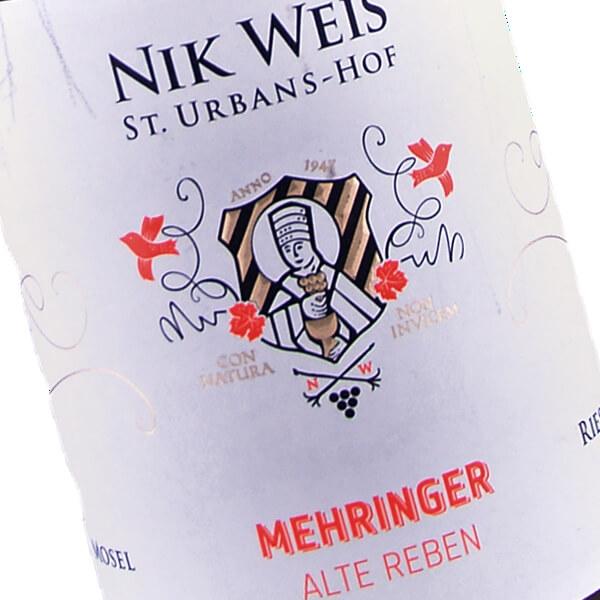 Mehringer Alte Reben Trocken 2015 (Nik Weis St. Urbans-Hof)