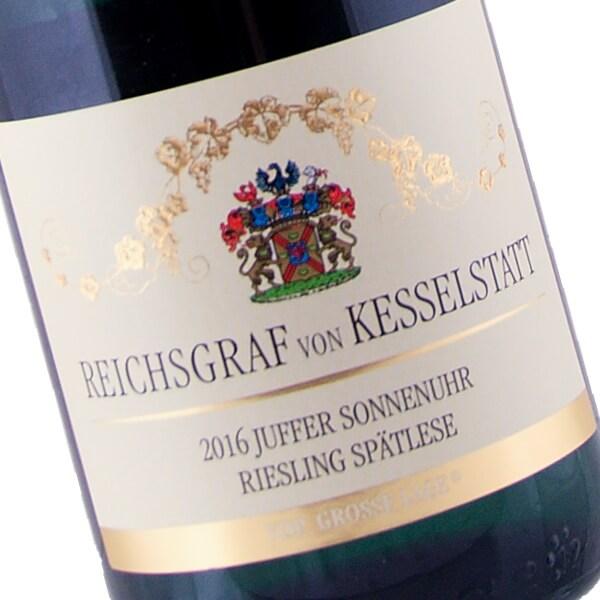 Brauneberger Juffer-Sonnenuhr Riesling Spätlese 2016 (Reichsgraf von Kesselstatt)