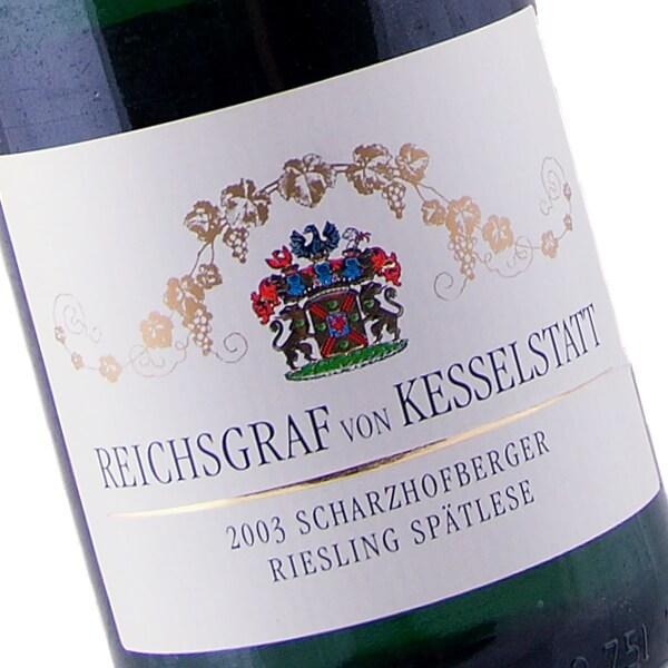 Scharzhofberger Riesling Spätlese 2003 (Reichsgraf von Kesselstatt)
