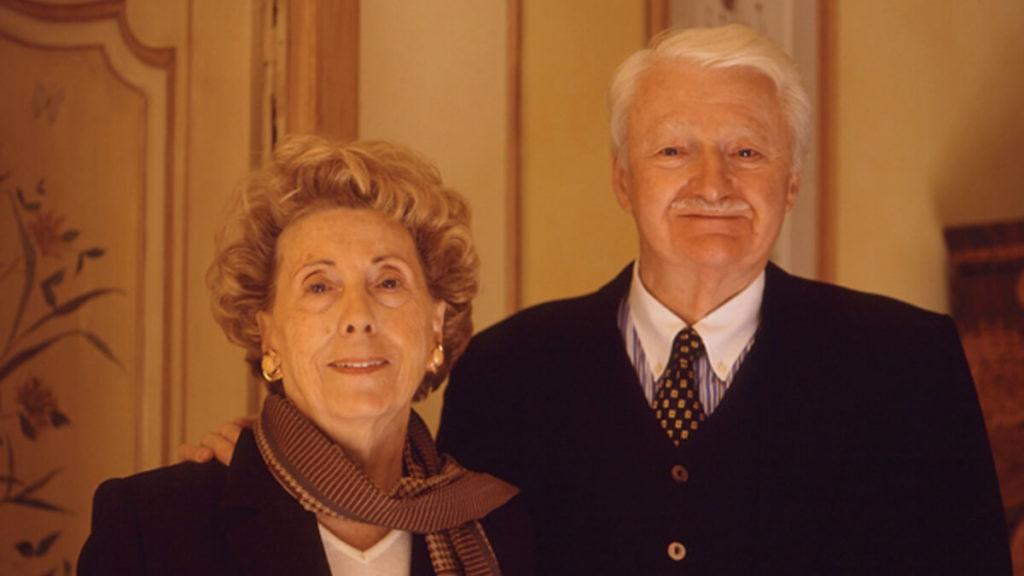 Odette a René Bastide