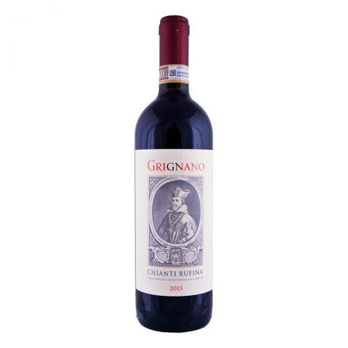 """Chianti Rufina """"Grignano"""" 2015 vino biologico (Fattoria di Grignano)"""