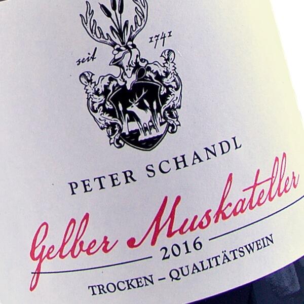 Gelber Muskateller 2016 (Weingut Peter Schandl)