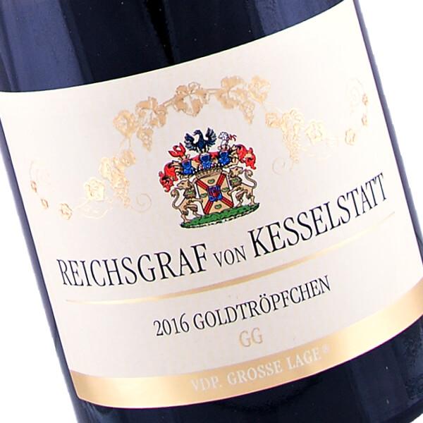 Piesport Goldtröpfchen GG Riesling 2016 (Reichsgraf von Kesselstatt)