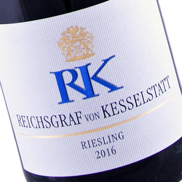 RK Riesling feinherb 2016 (Reichsgraf von Kesselstatt)