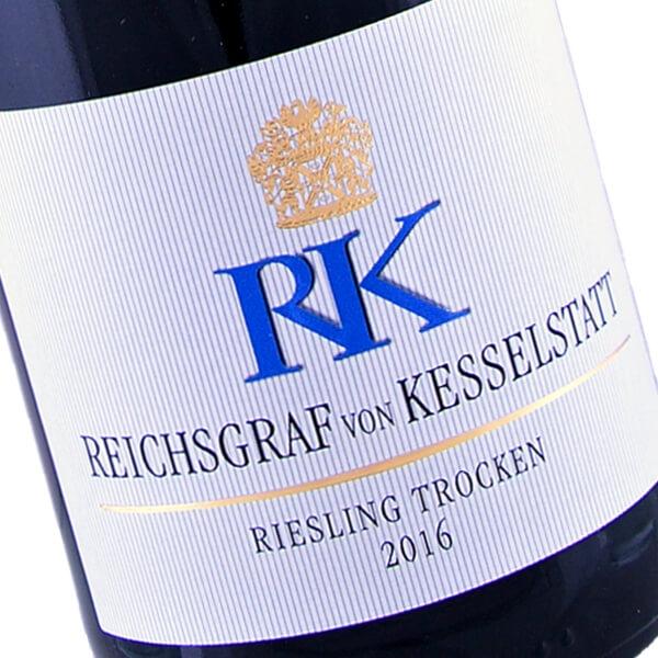RK Riesling trocken 2016 (Reichsgraf von Kesselstatt)