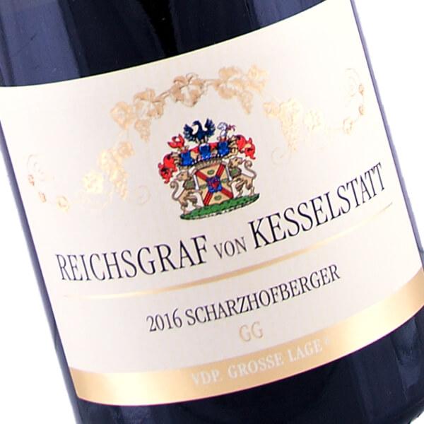Scharzhofberger GG Riesling 2016 (Reichsgraf von Kesselstatt)