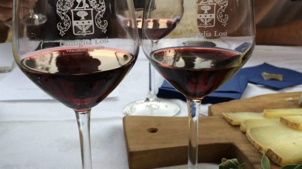 Víno vinařství Famiglia Losi