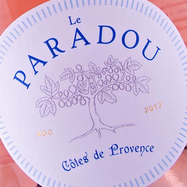 AOC Côtes de Provence Rosé 2017 (Le Paradou)