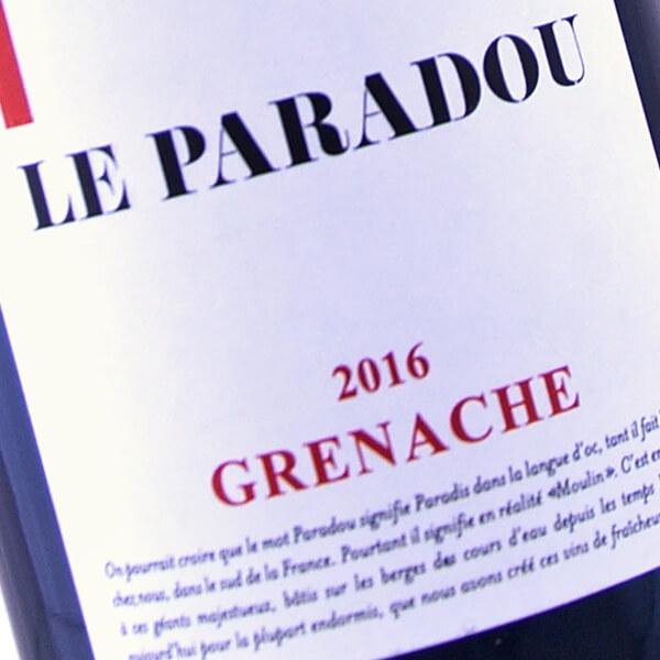 Grenache Rouge 2016 (Le Paradou)