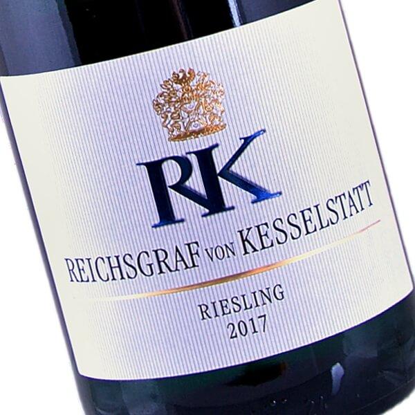 """""""RK"""" Riesling Feinfruchtig 2017 (Reichsgraf von Kesselstatt)"""