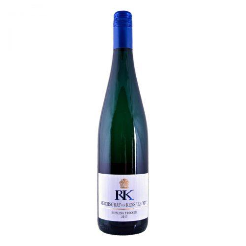 """""""RK"""" Riesling Trocken 2017 (Reichsgraf von Kesselstatt)"""