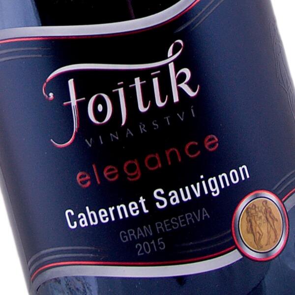 Cabernet Sauvignon elegance Gran Reserva výběr z hroznů suché 2015 (Vinařství Fojtík)