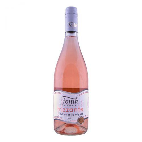 Cabernet Sauvignon Frizzante moravské zemské suché 2017 (Vinařství Fojtík)