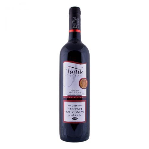 Cabernet Sauvignon pozdní sběr suché 2016 (Vinařství Fojtík)