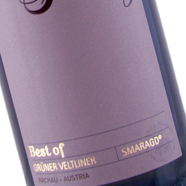 Best Of Grüner Veltliner Smaragd 2017 (Weingut Schmelz)