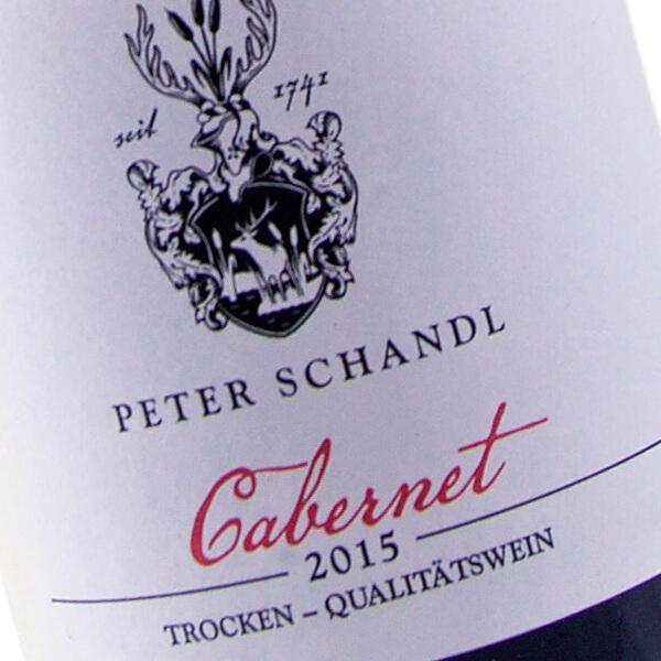 Cabernet 2015 (Weingut Peter Schandl)