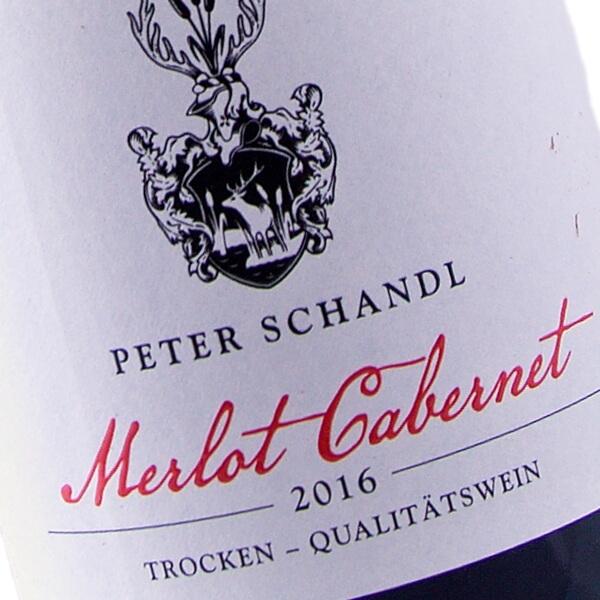 Merlot Cabernet 2016 (Weingut Peter Schandl)