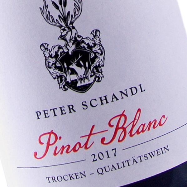 Pinot Blanc 2017 (Weingut Peter Schandl)