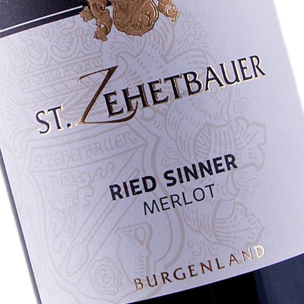 Merlot Sinner 2015 (Weingut St. Zehetbauer)
