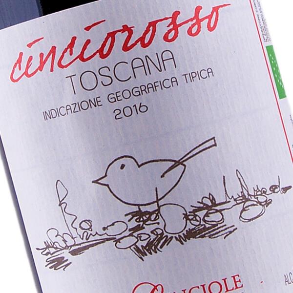 Cinciorosso IGT Toscana 2016 (Le Cinciole)