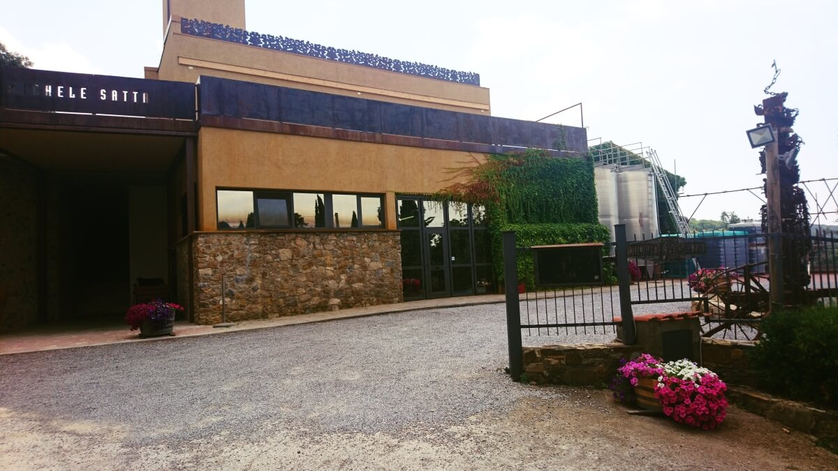 Vinařství Michele Satta v Bolgheri
