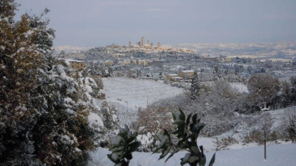 Il Colomabaio di Santa Chiara - zima
