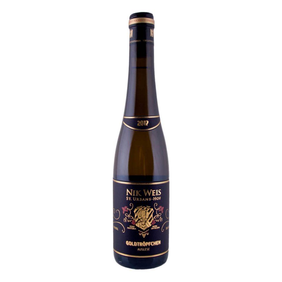Goldtröpfchen Riesling Auslese 2017 375 ml  (Nik Weis St. Urbans-Hof)