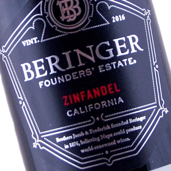 Founder's Estate Zinfandel 2016 (Beringer Vineyards)